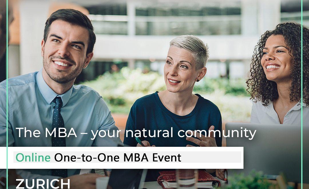 Access MBA Zurich 14 October 2020