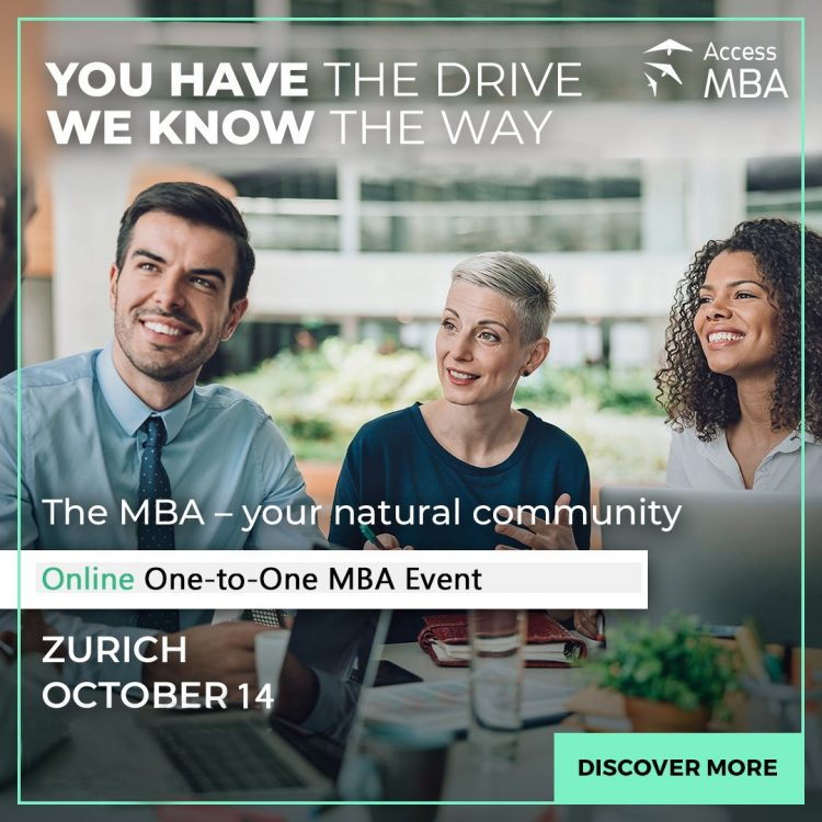 Access MBA Zurich 14 October 2020
