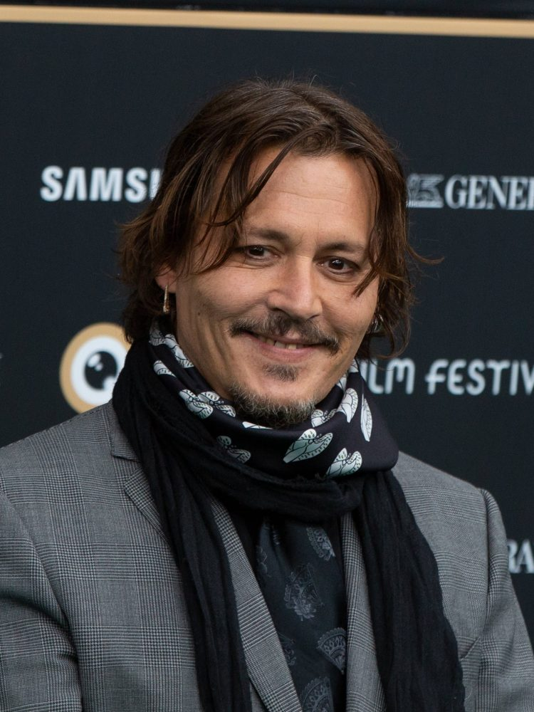 Johnny Depp At Zurich Films Festival 2020