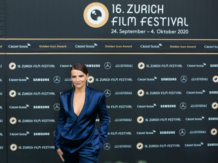 Juliette Binoche at Zurich Film Festival 2020