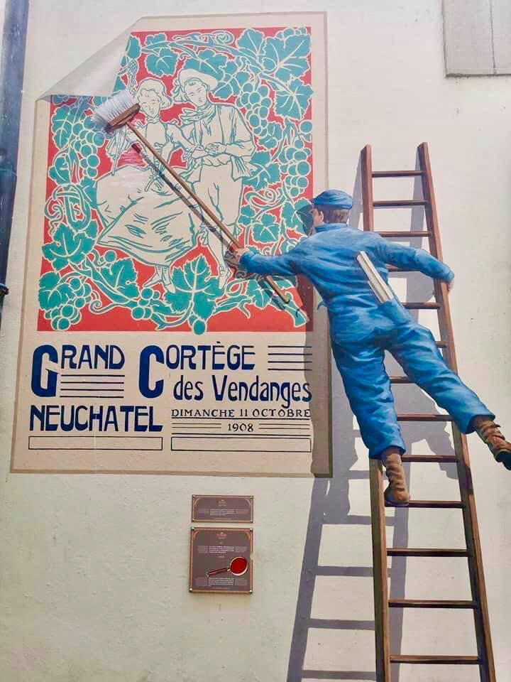 Street Art in Neuchâtel