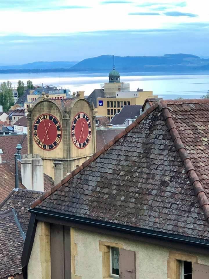 Views over Neuchâtel