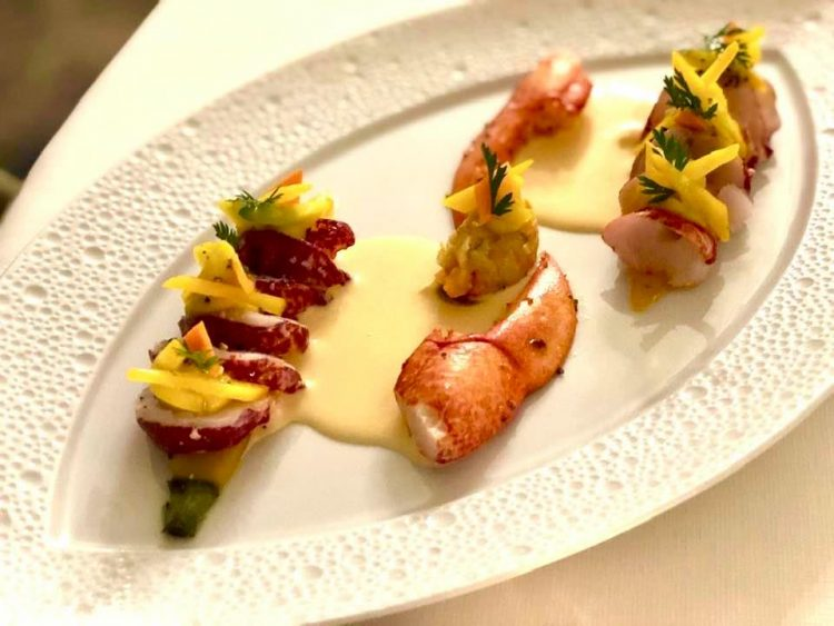 2 Michelin Star Cuisine at Maison Wenger au Noirmont