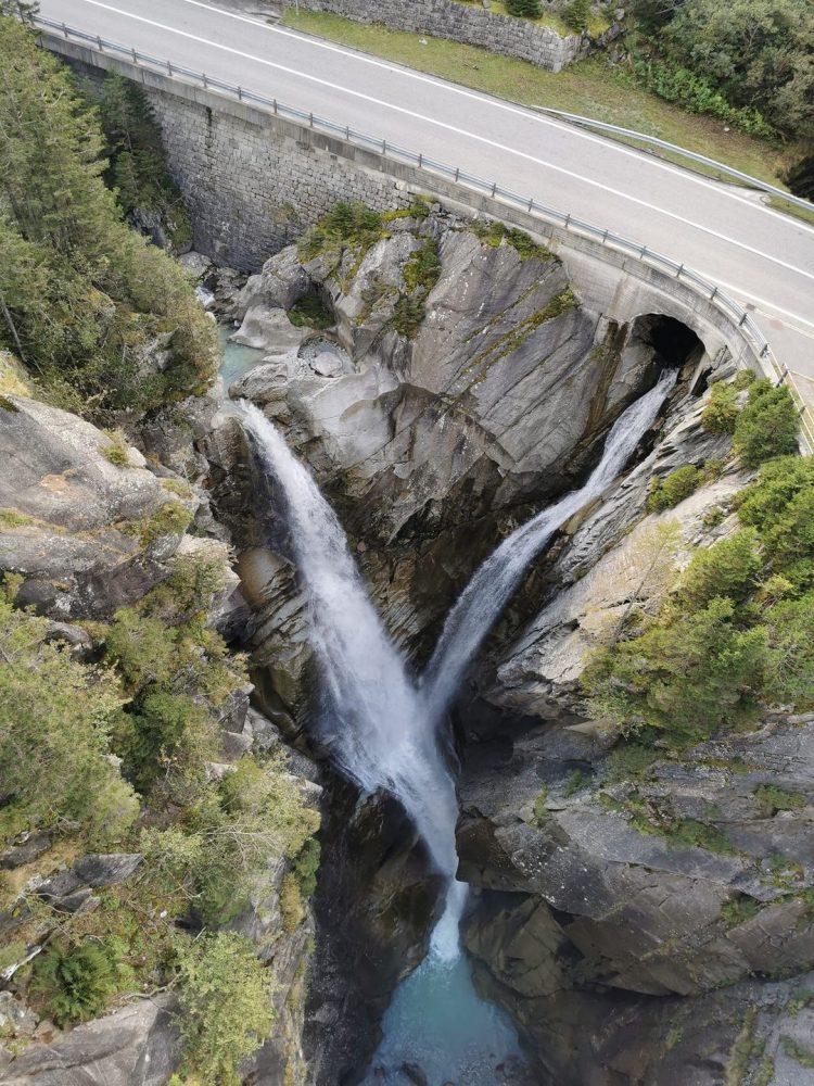 The Handeck waterfall Grimselwelt