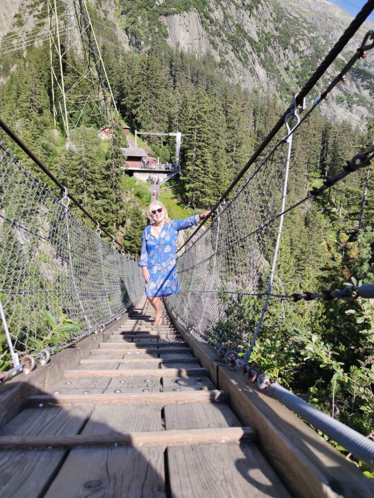 Handeck Hanging Bridge Grimselwelt