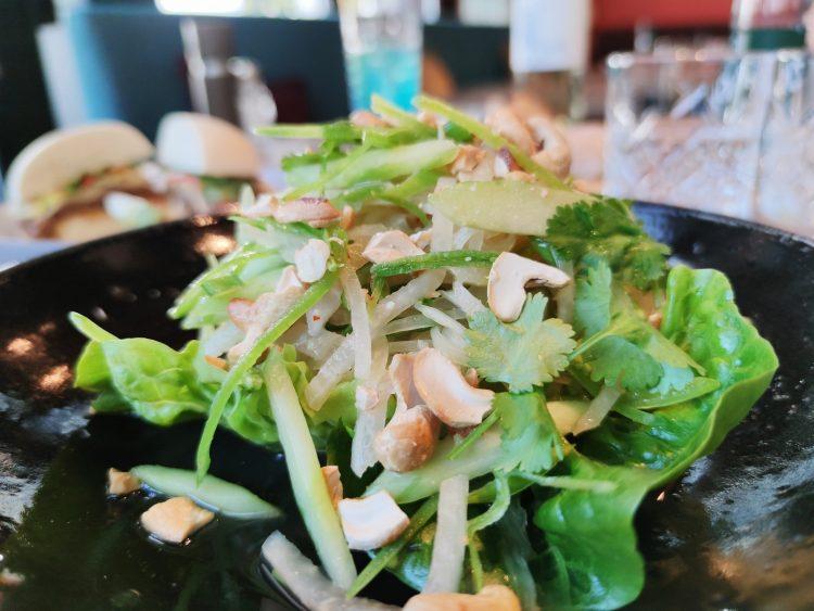 Papaya salad at L'Amant Brasserie & Bar Sihlcity