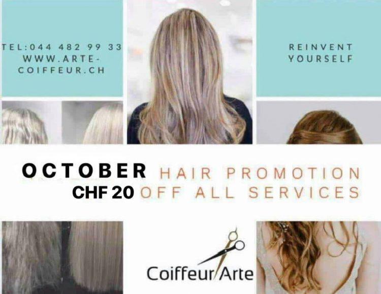 Coiffeur Arte Hair Zurich