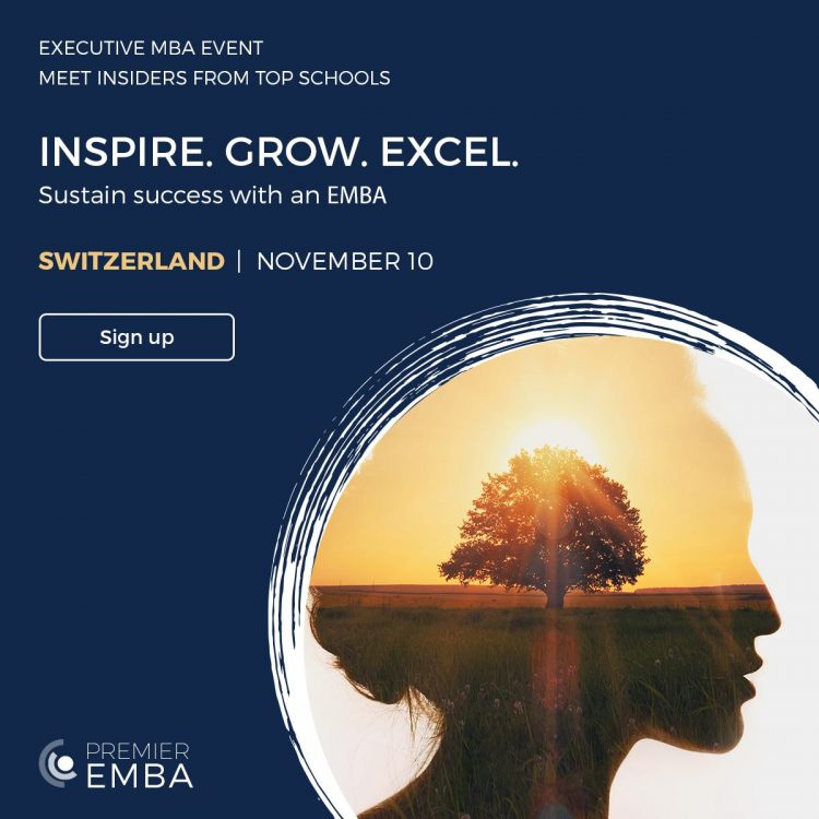 Grow your career and Leadership with An Executive MBA