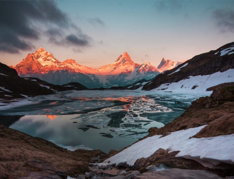 Hiking near Bachalpsee Grindelwald First