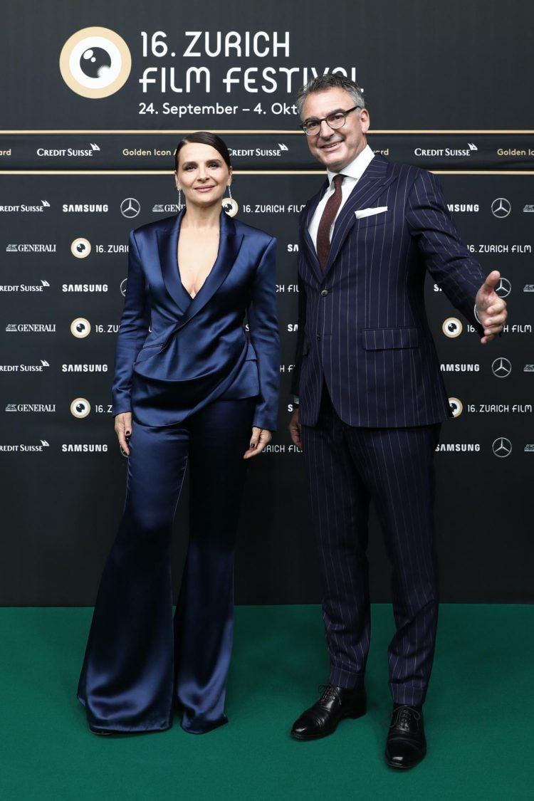 Juliette Binoche Zurich Film Festival 2020