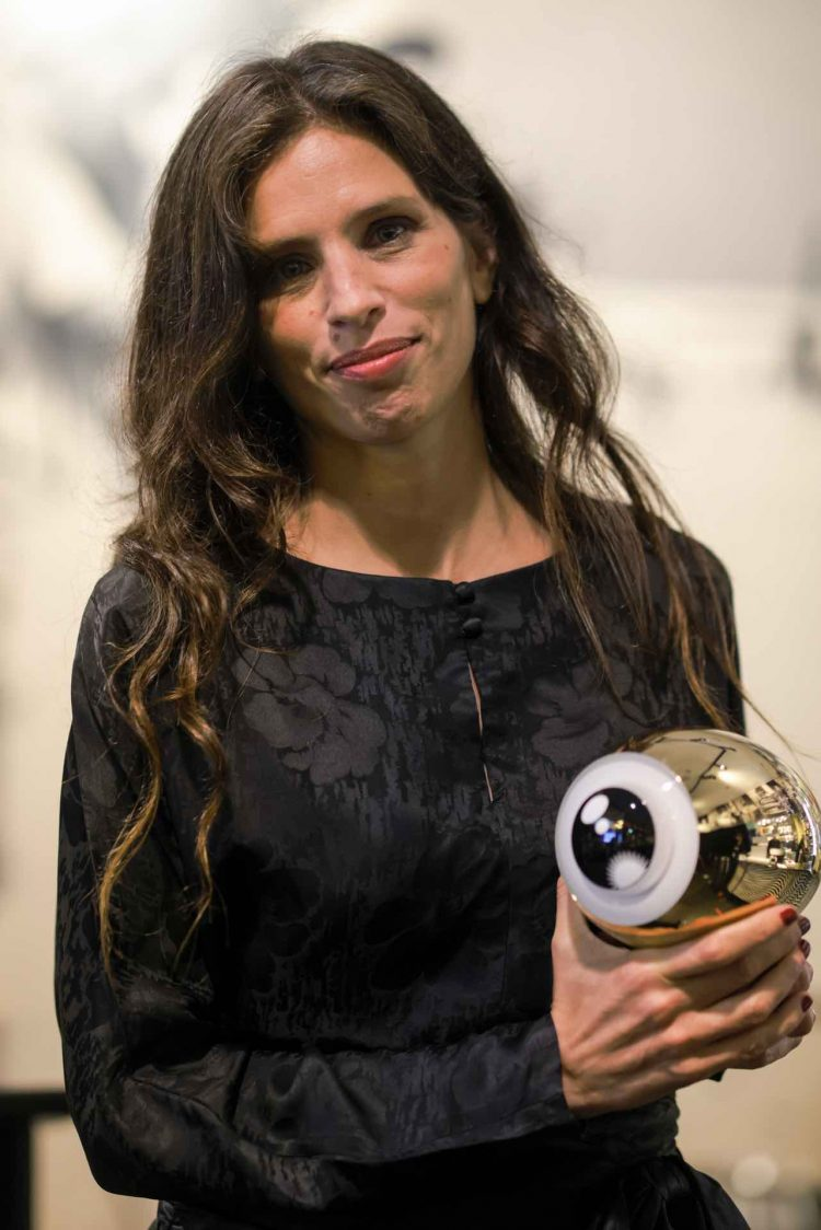 "Maïwenn receives the ""A Tribute To"" Award at ZFF 2020"