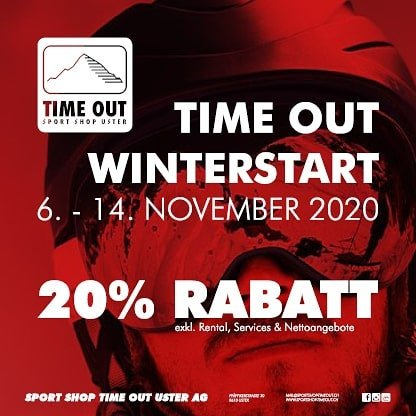 Sport Shop Time out Uster Winter start