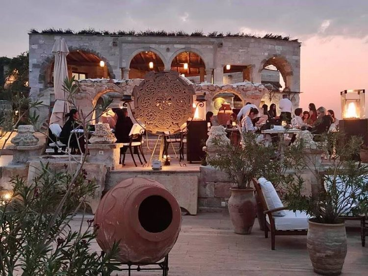 Restaurant Lil'a Museum Hotel Cappadocia Turkey - A Luxury Cave Hotel