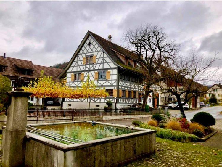 A Circular Hike Around Eglisau in Autumn Rüdlingen am Rhein