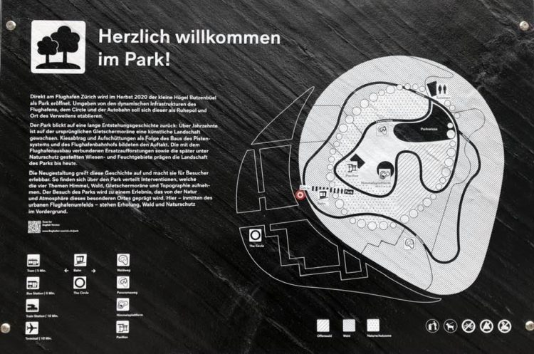 Park at The Circle Business and Shopping Complex at Zurich Airport