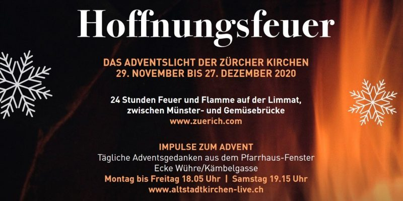 Advent 2020 In Zurich - The Hoffnungsfeuer