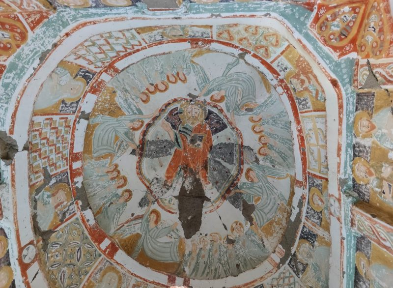 """The Church of Daniel"" fresco Ihlara Valley Cappadocia"