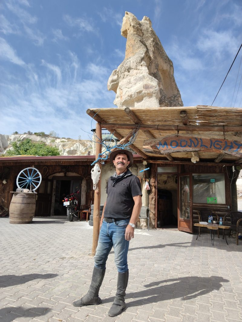 our guide at moonlight horse ranch Cappadocia