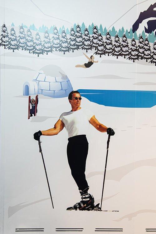 DOLDER LODGE at The Dolder Grand - Arnold Schwarzenegge