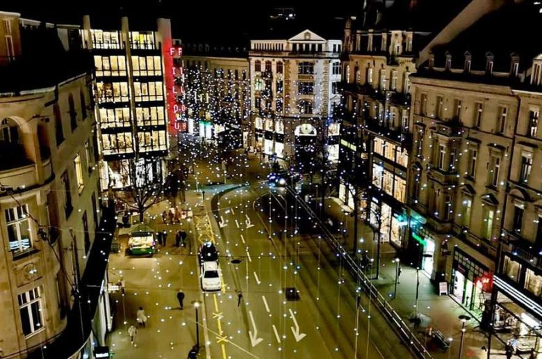 LUCY lights Bahnhofstrasse