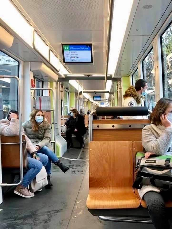 The New Flexity Tram in Zurich