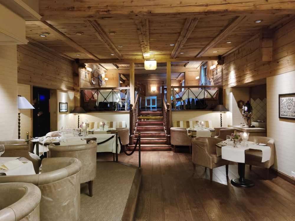 Dining at Gstaad Palace Gstaad