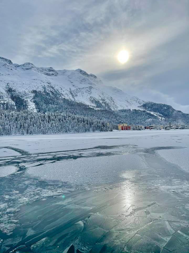 Lake St Moritz Switzerland