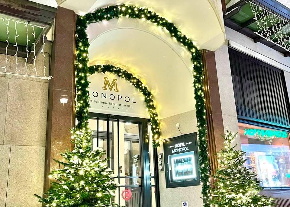 A Winter Break at the Art Boutique Hotel Monopol St. Moritz