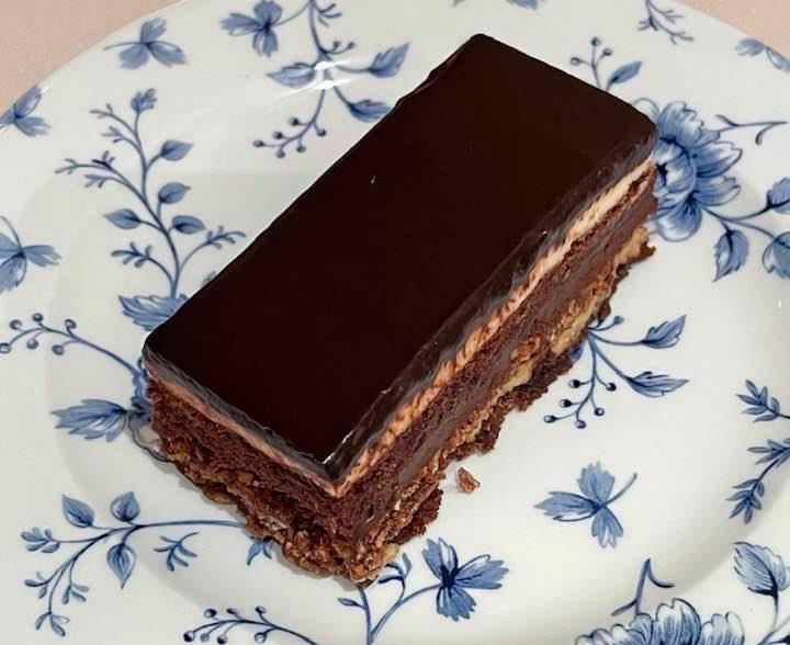 """""""La Settevelli"""" chocolate dessert at Restaurant MONO St Moritz"""