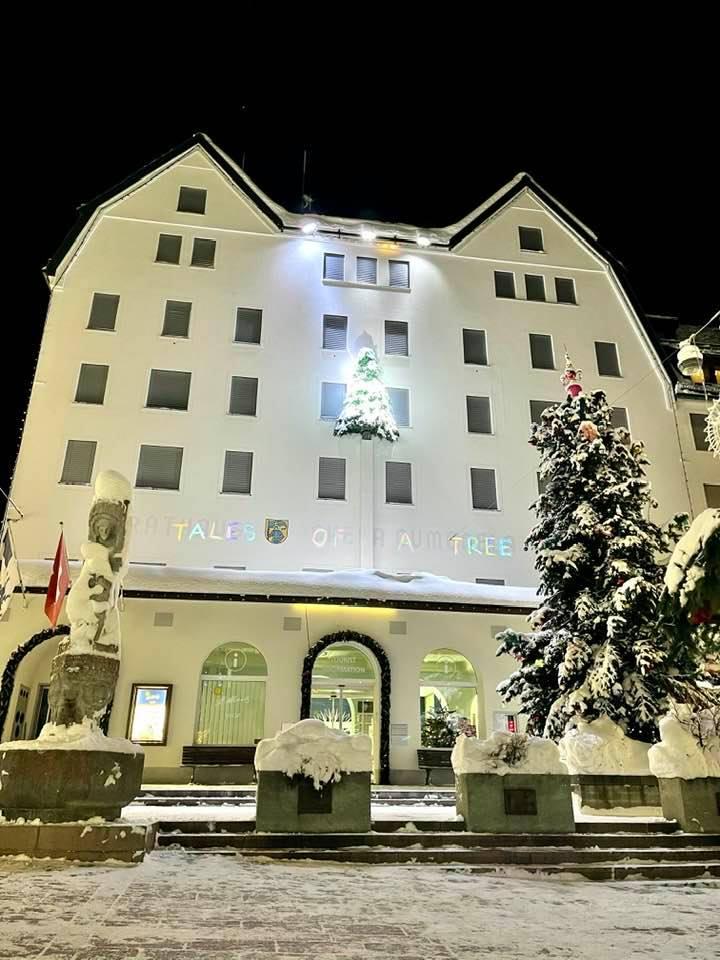 Tales of a tree St Moritz