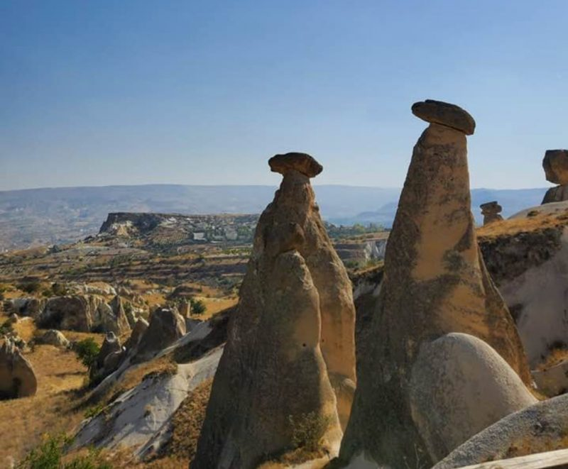 The Three Beautiful or 3 Graces fairy chimneys Cappadocia