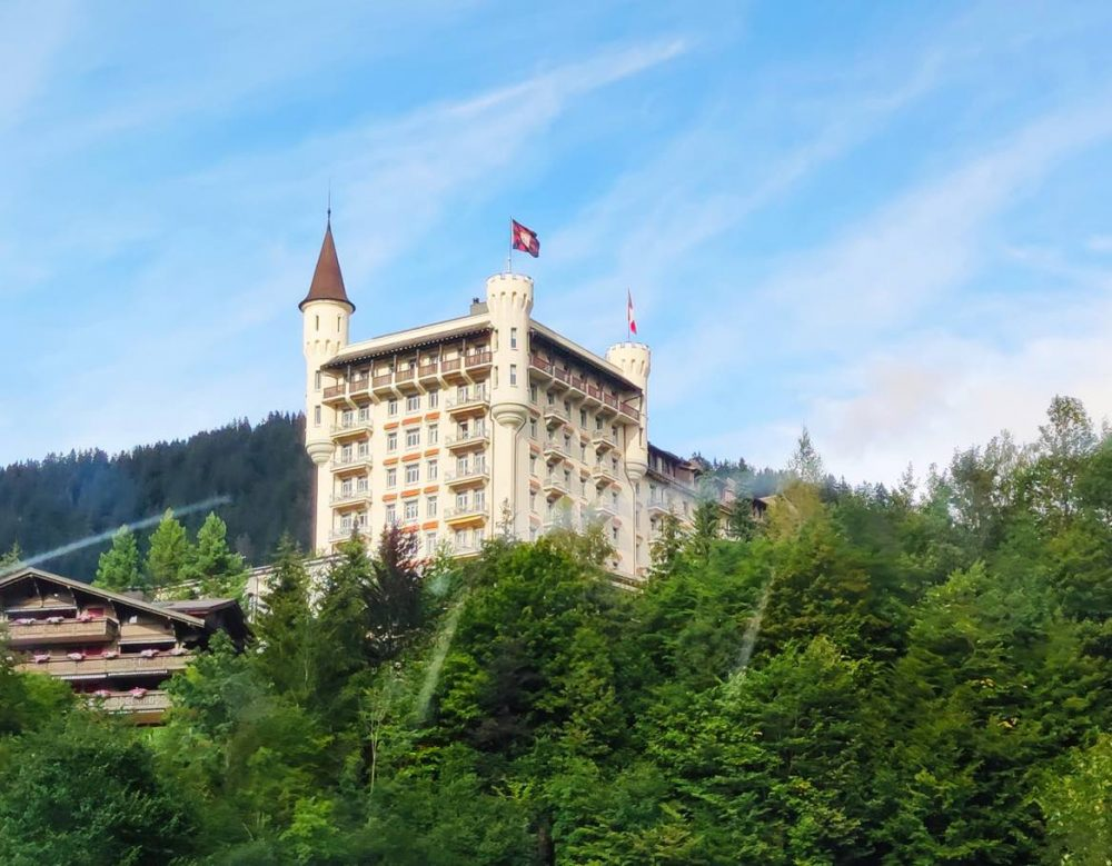 A Luxurious Stay at the Gstaad Palace Hotel