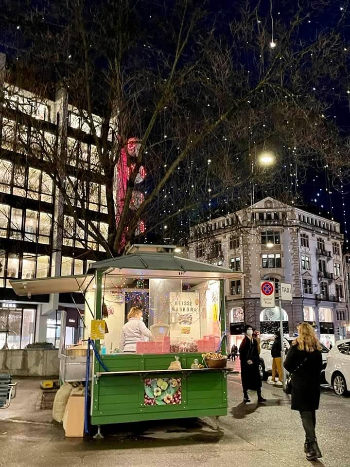 Marroni - One of the Top Winter Foods in Switzerland