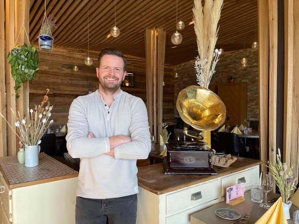 Chef Pascal Schmutz s'nani restaurant Laax