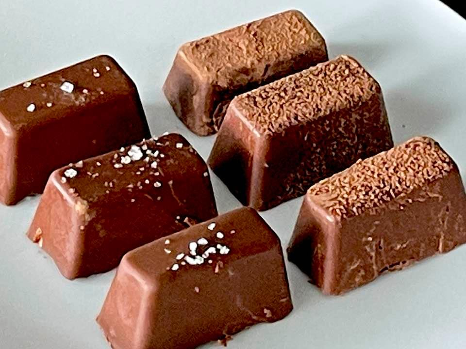 Easy 2 Ingredient Only Vegan Chocolate Almond Truffles