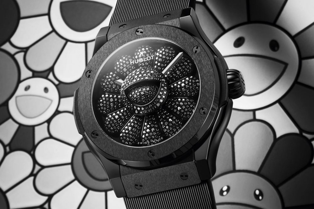 Hublot Unveils All Black Watch with Artist Takashi Murakami
