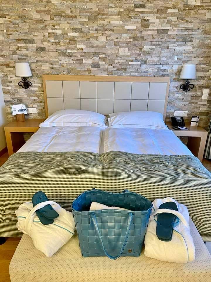 The Bedrooms at the Kurhaus Cademario Ticino