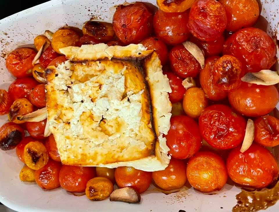The Viral Baked Feta Pasta Recipe
