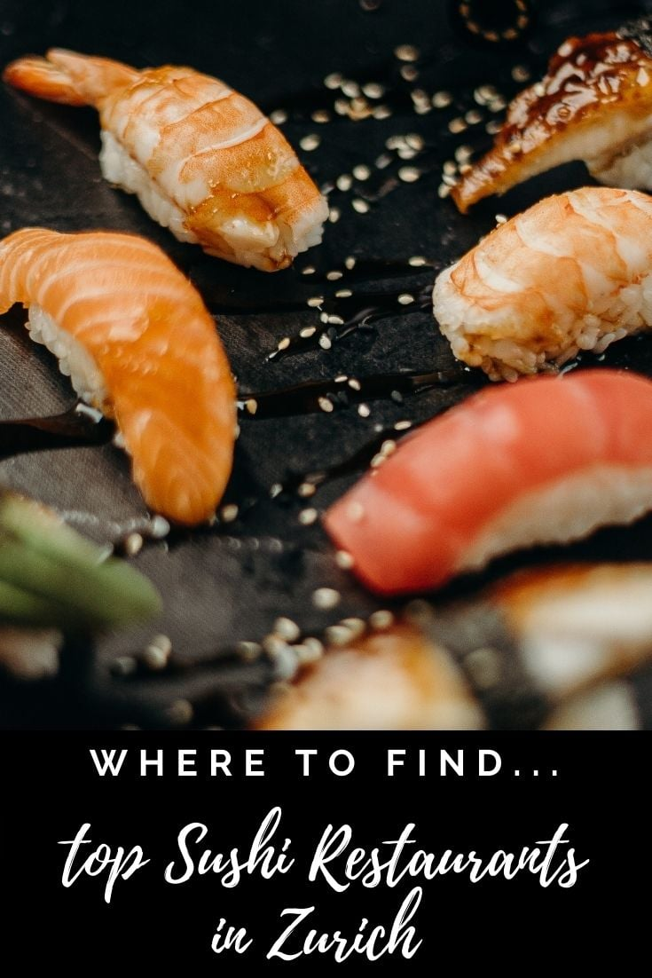 Best Places to Eat Sushi In Zurich