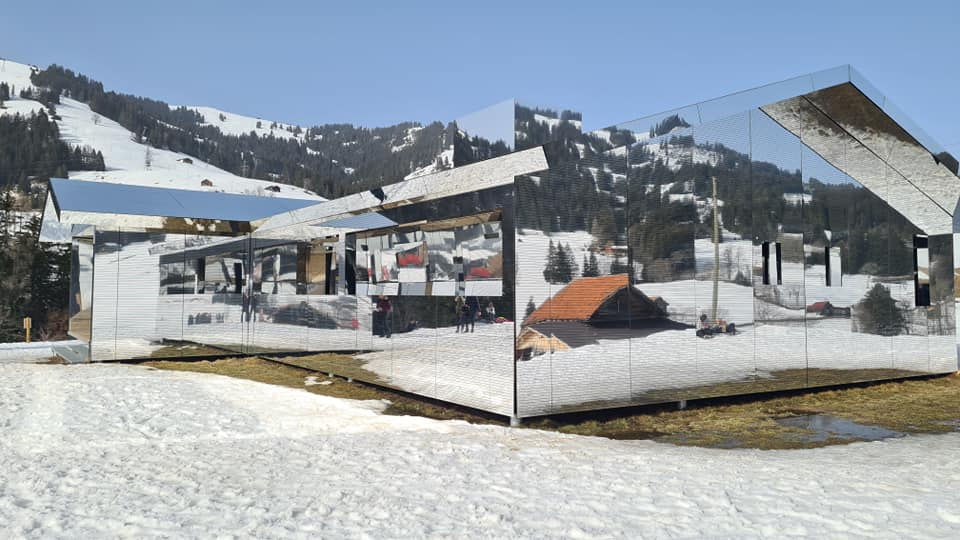 Photos of Le Mirage House of Mirrors Gstaad In The Snow