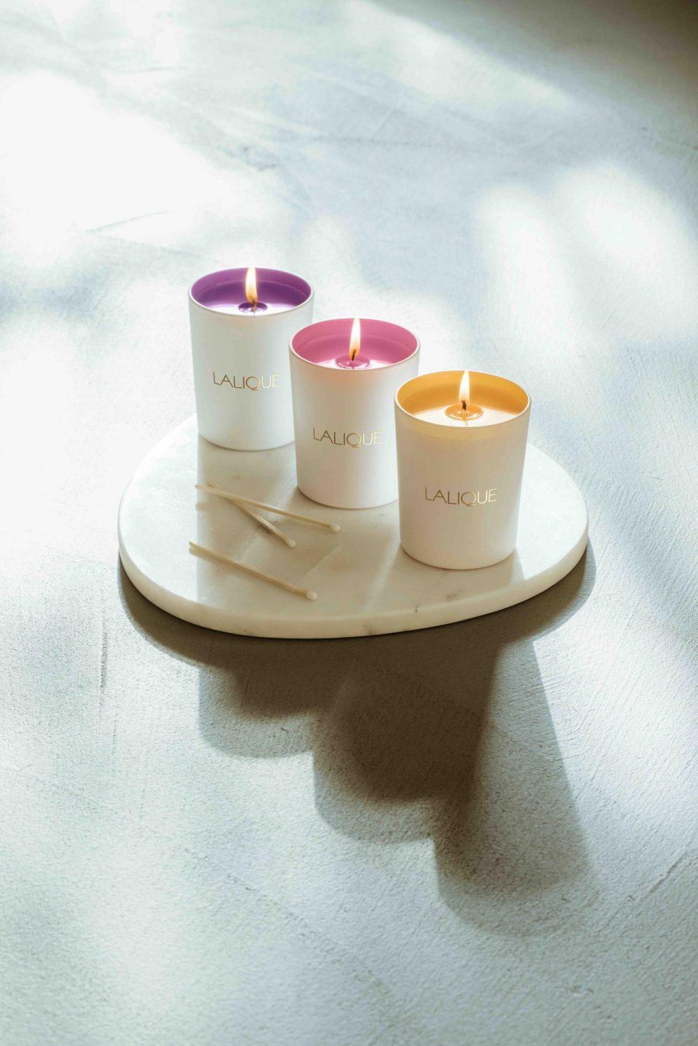 Lalique scented candles - Compositions Parfumées