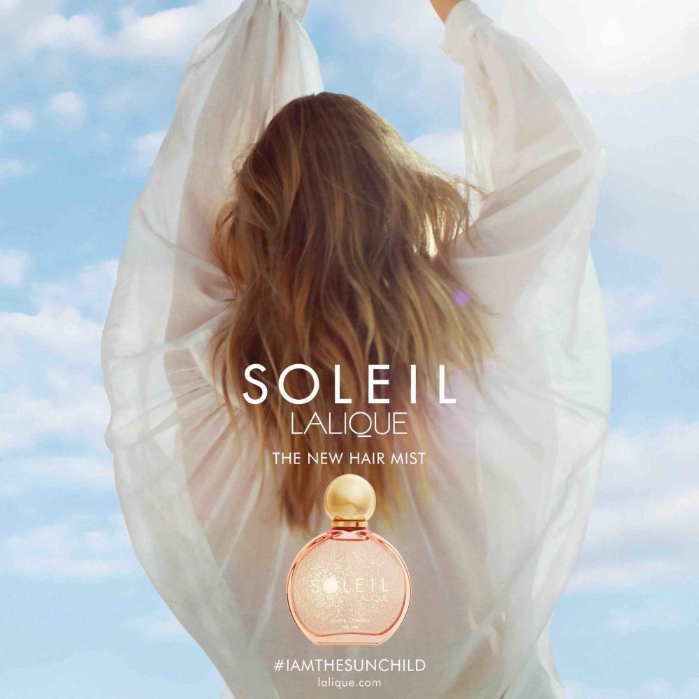 Lalique Soleil perfumed hair Mist