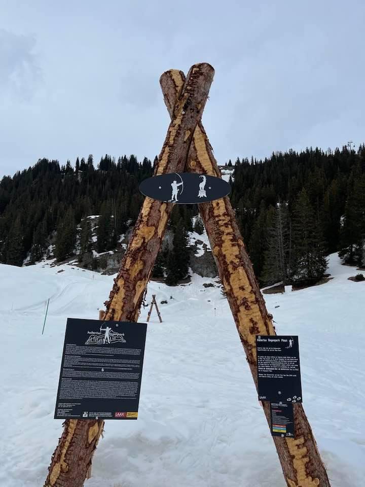 snowshoeing rockresort Design Hotel Holiday Apartments in Laax Switzerland
