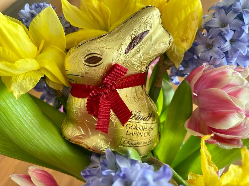 Get creative with your Lindt Gold Bunny this Easter