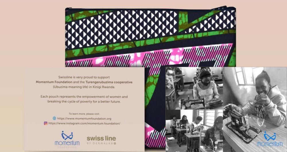 Swissline Skincare Teams Up With Momentum Foundation Rwanda