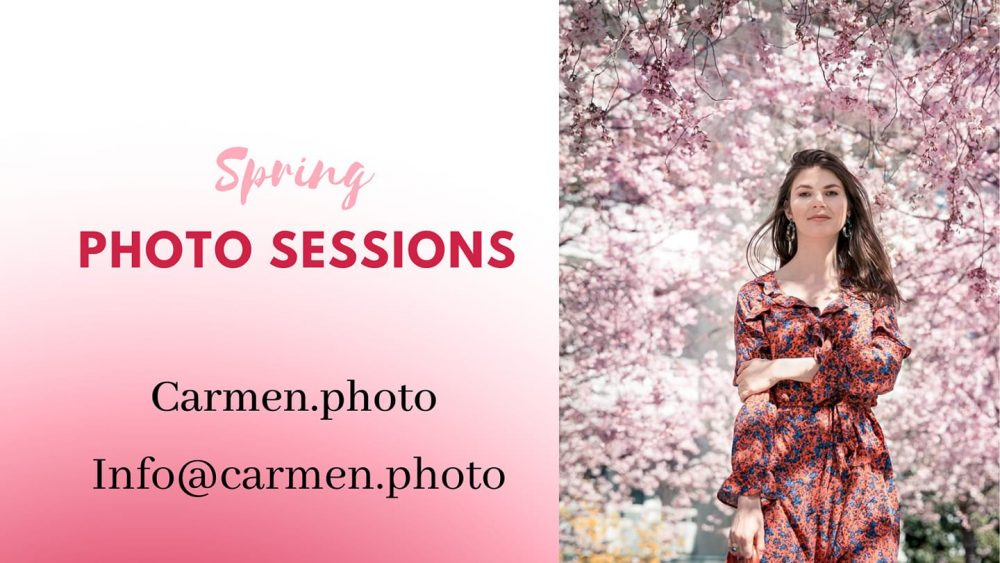 Carmen.photo Spring Photo sessions