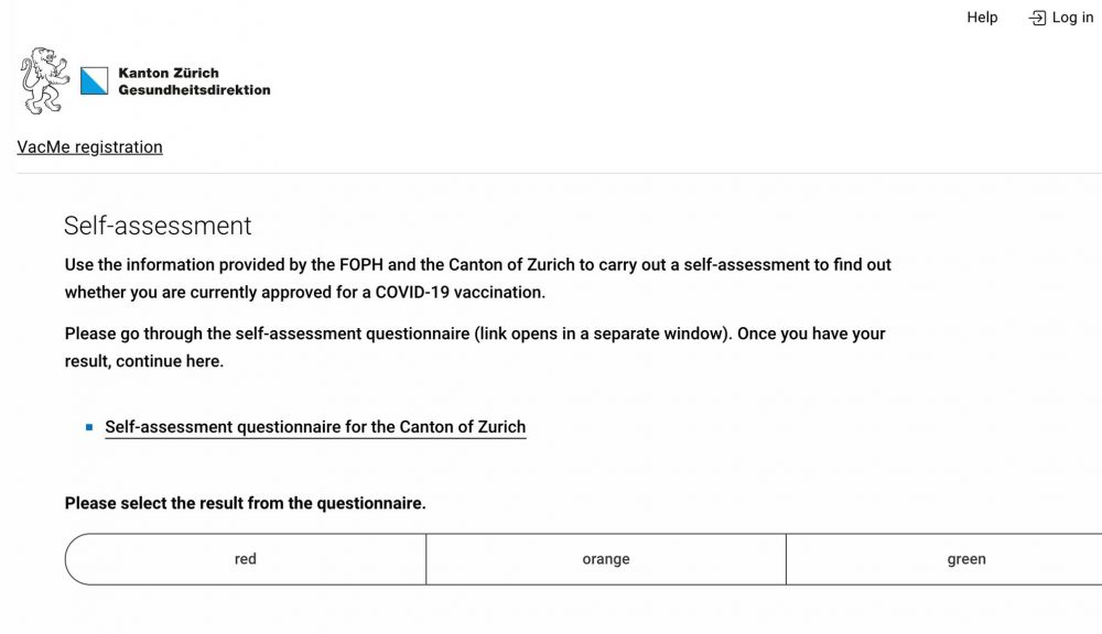 Vac.me How To Register For Your Covid Vaccination in Zurich