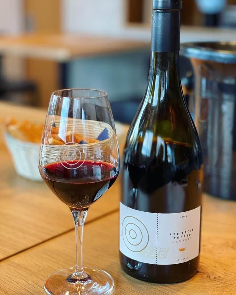 Les Trois Terres wine Morges