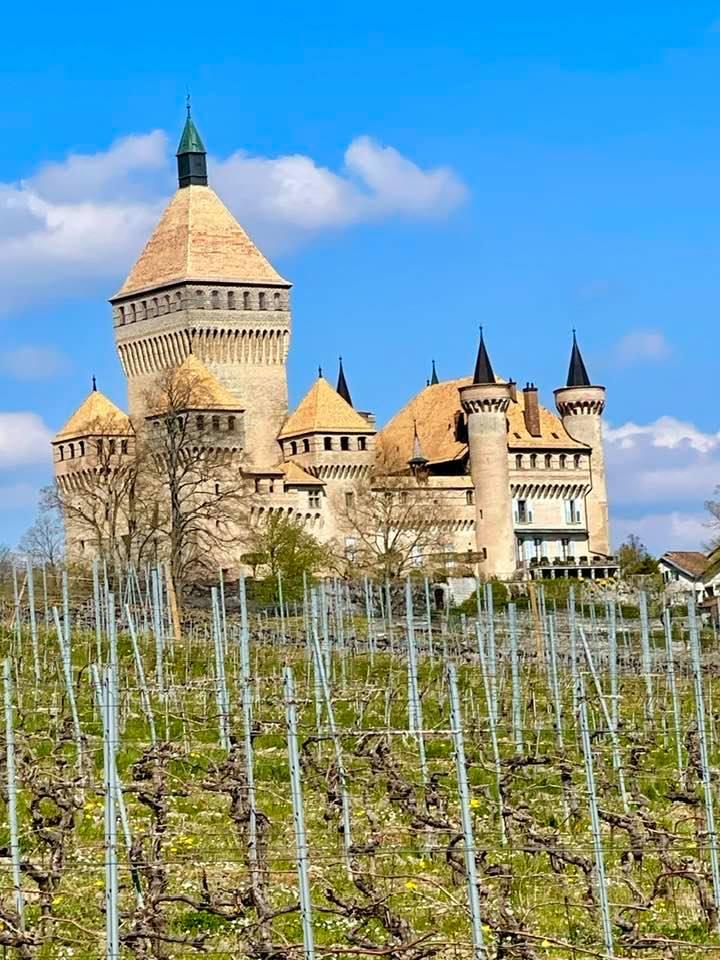 Chateau Vufflens Morges