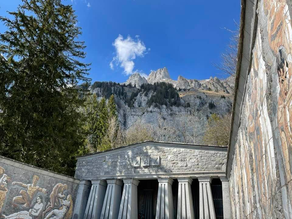 A Trip To Paxmal The Amazing Peace Monument In The Churfirsten Mountains